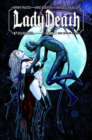 Lady Death #3 (Flight Cover)