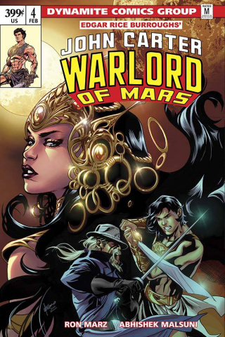 John Carter: Warlord of Mars #4 (Lupacchino Cover)