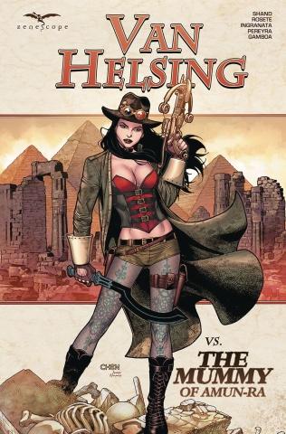 Grimm Fairy Tales: Van Helsing vs. The Mummy of Amun Ra