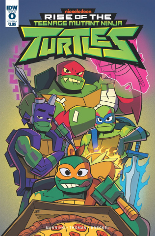Rise of the Teenage Mutant Ninja Turtles #0 (Thomas Cover)