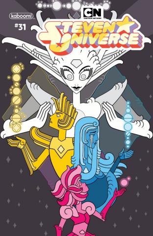 Steven Universe #31 (Preorder Monarobot Cover)