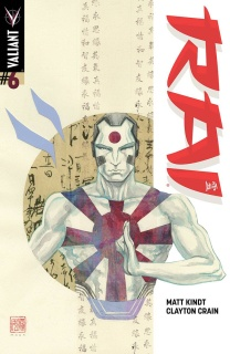 Rai #6 (10 Copy Mack Cover)