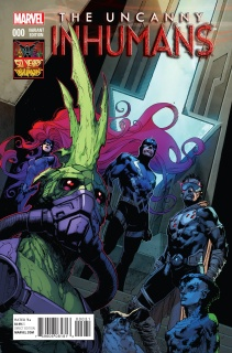 The Uncanny Inhumans #0 (Inhuman 50th Anniversary Cover)