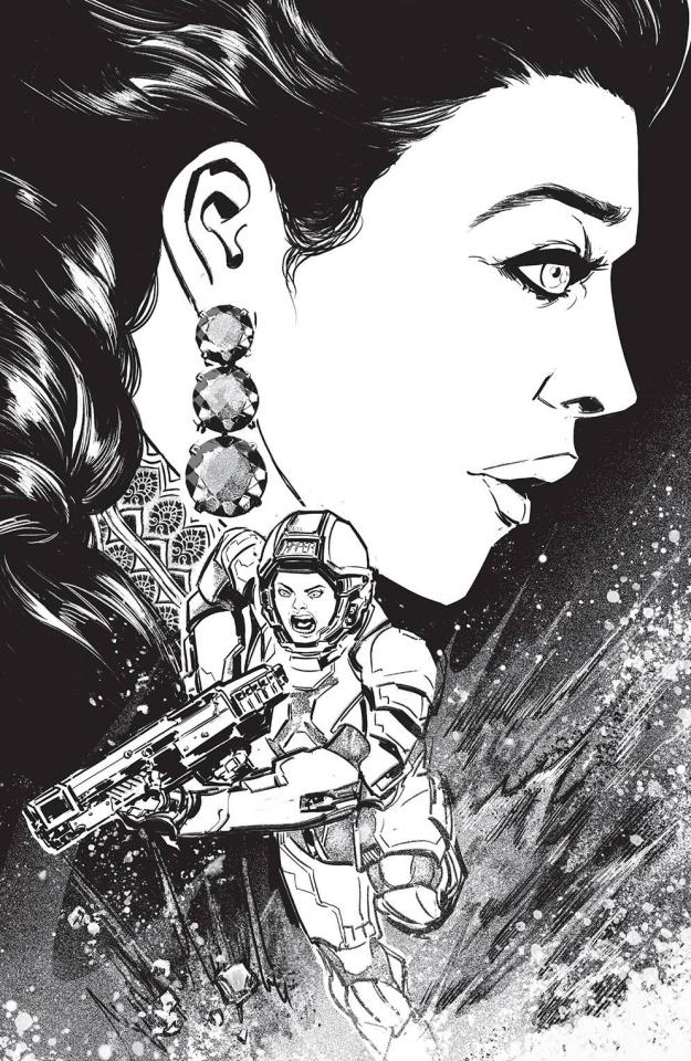 The Expanse #3 (25 Copy Petraies Cover)