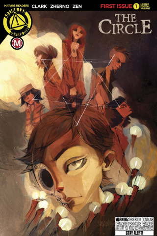 The Circle #1 (Shavrin Cover)