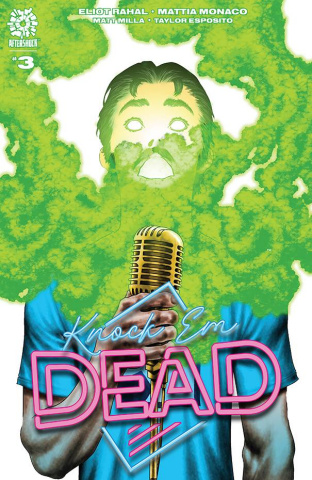 Knock 'Em Dead #3 (Andy Clarke Cover)