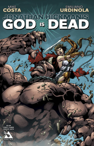 God Is Dead #43 (End of Days Cover)