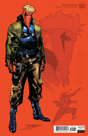 Batman #101 (1:25 Jorge Jimenez Card Stock Cover)