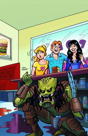 Archie vs. Predator #2 (Parent Cover)