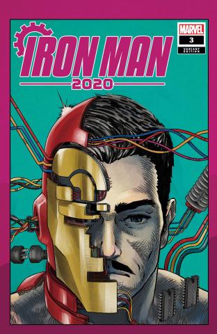 Iron Man 2020 #3 (Superlog Heads Cover)