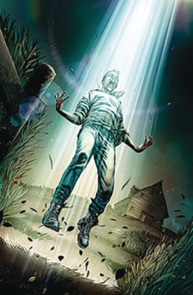 Conspiracy: Alien Abductions (Vitorino Cover)