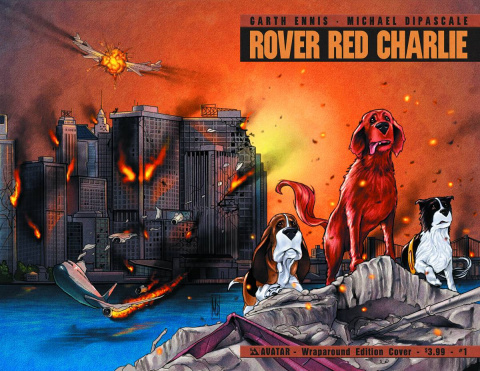 Rover Red Charlie #1 (Wrap Cover)