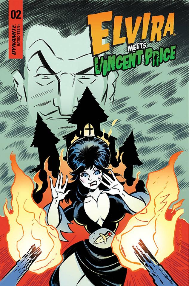 Elvira Meets Vincent Price #2 (Marques & Bone Cover)