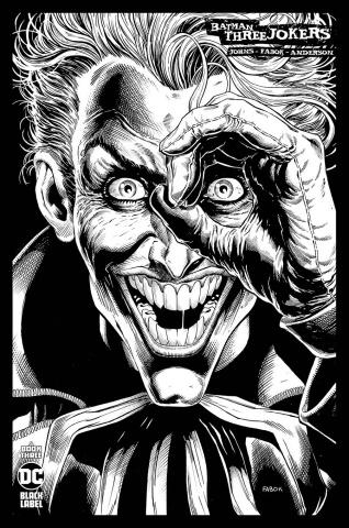 Batman: Three Jokers #3 (1:100 Jason Fabok B&W Cover)