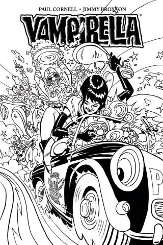 Vampirella #2 (30 Copy Broxton B&W Cover)
