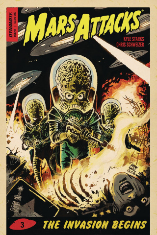 Mars Attacks #3 (Francavilla Cover)