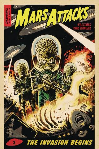 Mars Attacks #3 (Francavilla Cover)