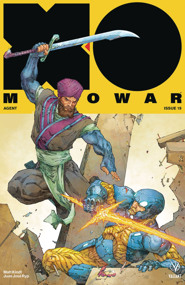 X-O Manowar #19 (Rocafort Cover)