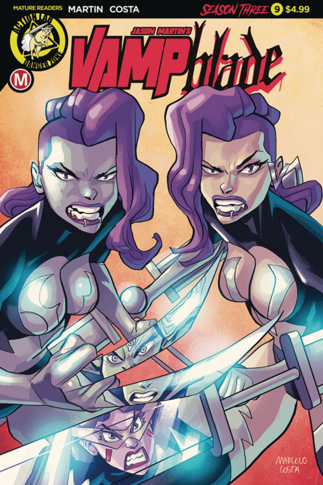 Vampblade, Season Three #9 (Costa Cover)