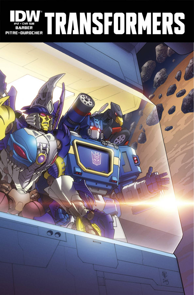 The Transformers #47 (Subscription Cover)