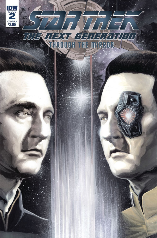 Star Trek: The Next Generation - Through the Mirror #2 (Woodward Cover)