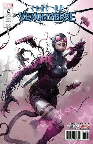 Edge of Venomverse #2 (2nd Printing Mattina Cover)