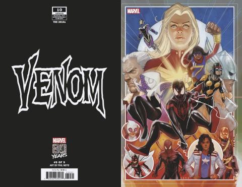 Venom #10 (Noto Marvel 80the Anniversary Cover)