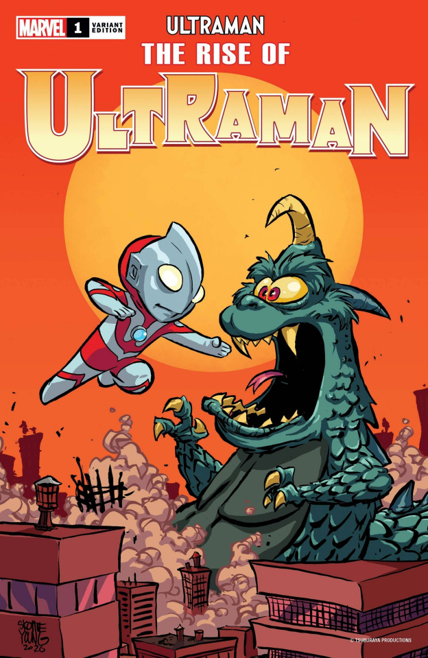 The Rise of Ultraman #1 (Young Cover)