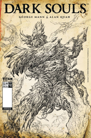 Dark Souls #2 (Cassara Cover)