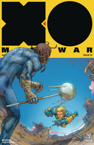 X-O Manowar #20 (Rocafort Cover)