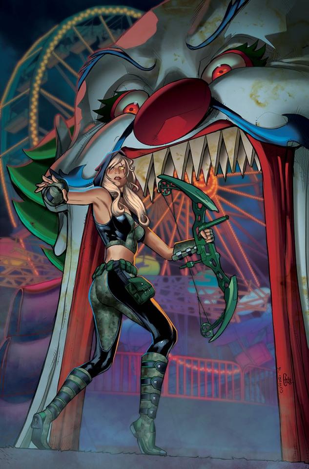 Grimm Fairy Tales: Robyn Hood - I Love NY #4 (Cuffari Cover)