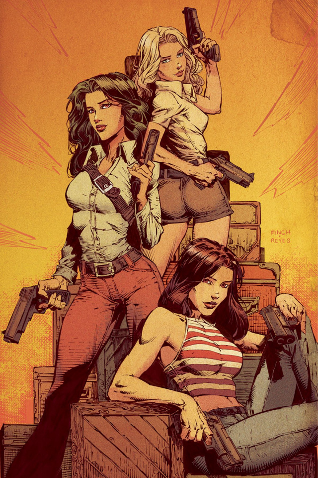 Charlie's Angels #1 (10 Copy Finch Virgin Cover)