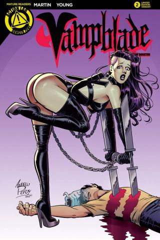 Vampblade #2 (Booty Cover)