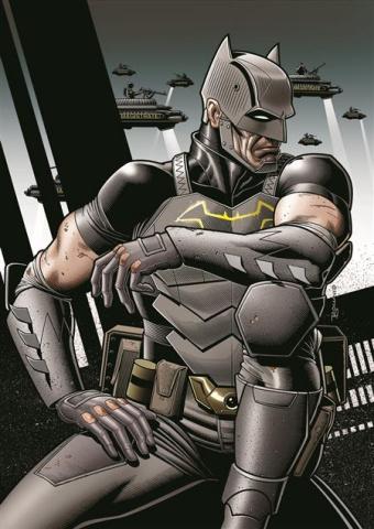 Future State: Dark Detective #4 (Brian Bolland Card Stock Cover)