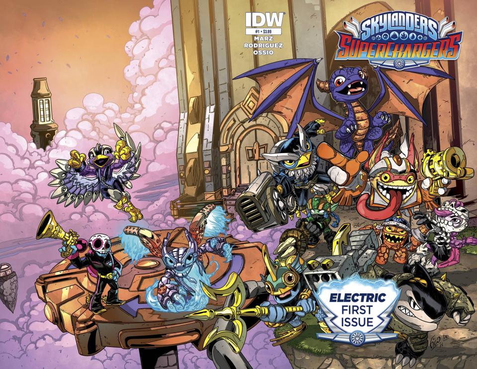 Skylanders: Superchargers #1