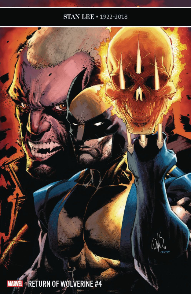Return of Wolverine #4 (Portacio Cover)
