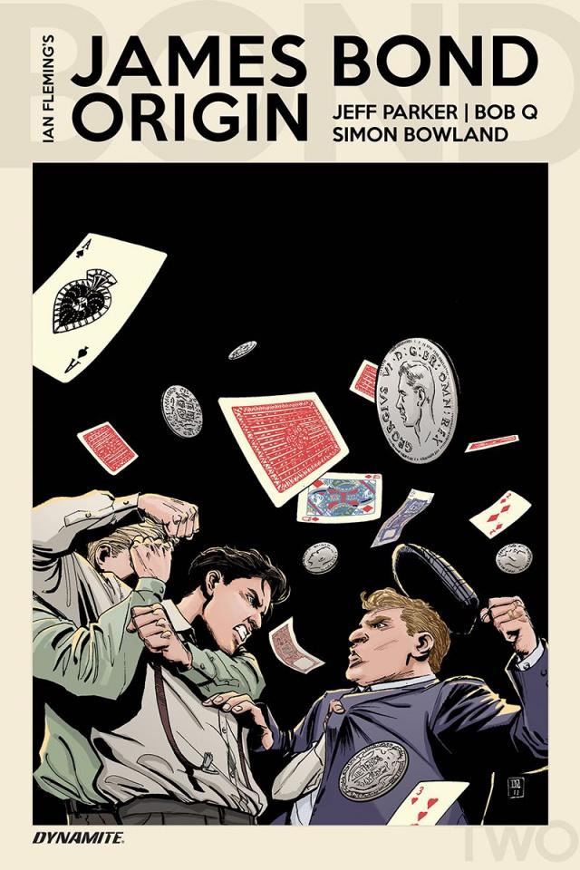 James Bond: Origin #2 (Moustafa Cover)