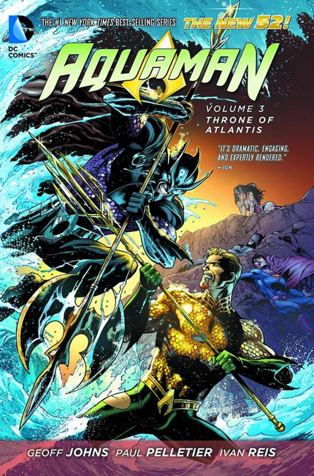 Aquaman Vol. 3: The Throne of Atlantis