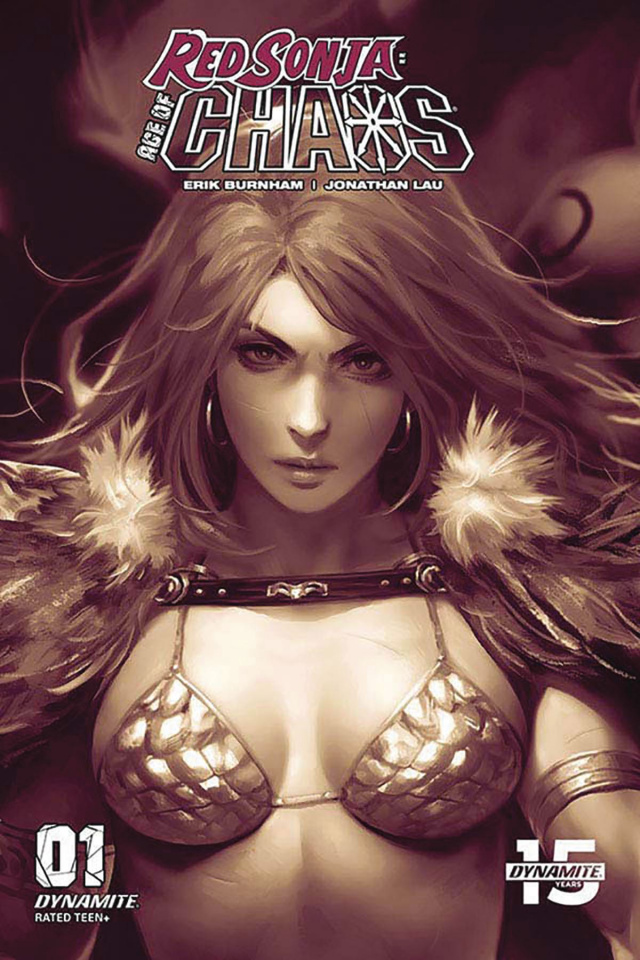 Red Sonja: Age of Chaos #1 (20 Copy Chew Monochromatic Cover)