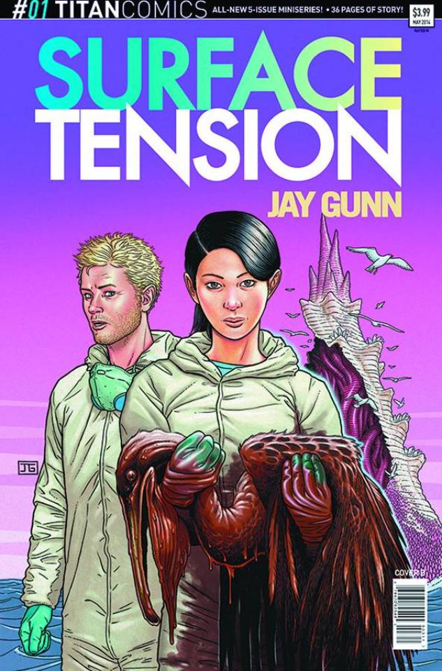 Surface Tension #1 (Subscription Gunn Cover)