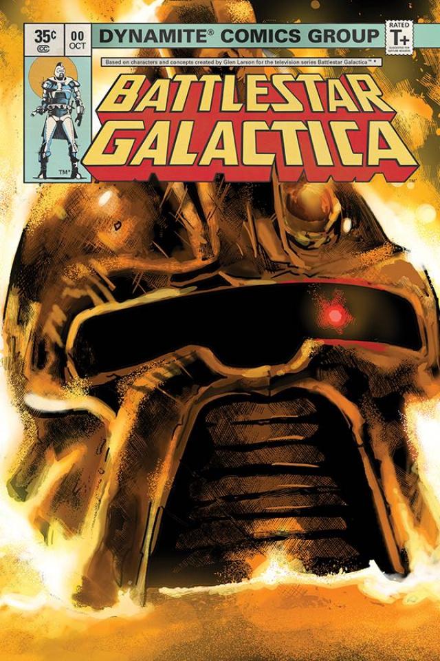 Battlestar Galactica Classic #0 (25 Copy Galindo Cover)
