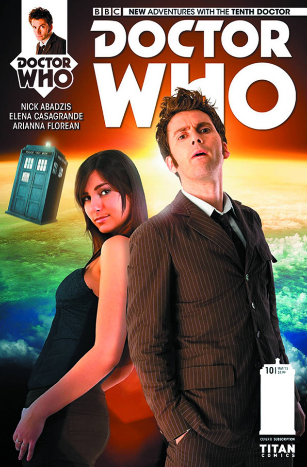 Doctor Who: New Adventures with the Tenth Doctor #10 (Photo Cover)
