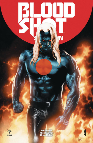 Bloodshot: Salvation #4 (Suayan Cover)