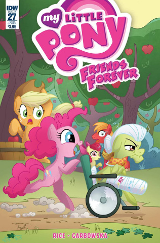 My Little Pony: Friends Forever #27 (Subscription Cover)