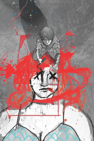 Killing Red Sonja #1 (21 Copy Ward Spot Color Virgin Cover)