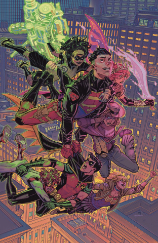 Young Justice #9 (Card Stock Cover)