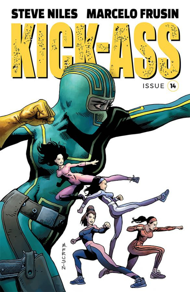 Kick-Ass #14 (Frusin Cover)