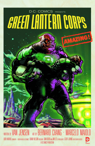 Green Lantern Corps #40 (Movie Poster Cover)