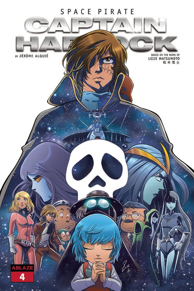 Space Pirate: Captain Harlock #4 (Cardona & Torta Cover)