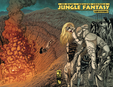 Jungle Fantasy: Survivors #8 (Wrap Cover)
